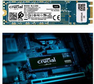 DISCO SSD 500GB CRUCIAL