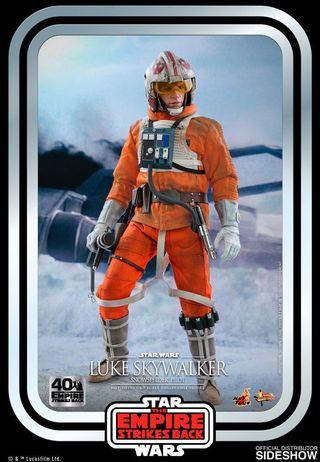 Hot toys Luke snowspeeder 1/6