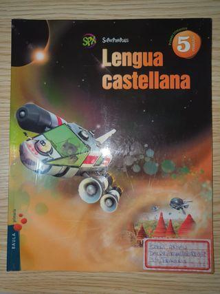 LLIBRE LENGUA CASTELLANA 5è DE PRIMARIA