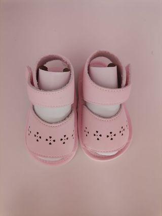 sandalias bebé sin estrenar