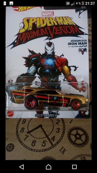 Venomized Iron Man Hot wheels