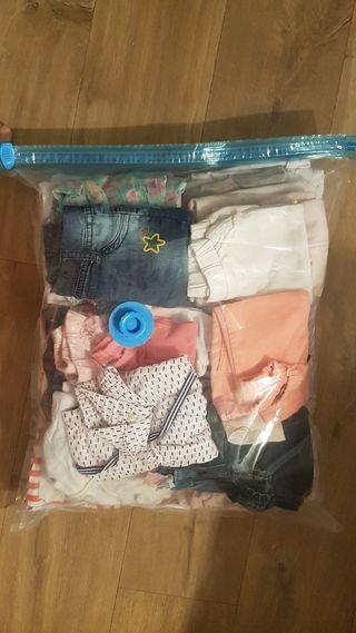 Lote de ropa de bebé de 3 y 6 meses