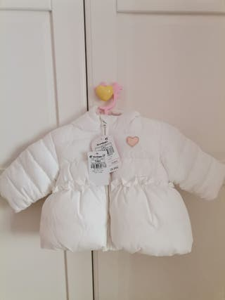 abrigo bebé ,el corte ingles