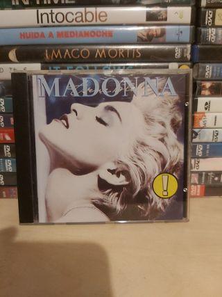 CD Madonna - True Blue