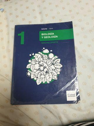 Biología y Geología 1° Bachillerato
