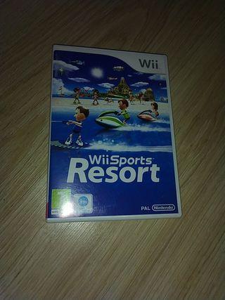 Videojuego para nintendo wii Wii Sports resort