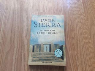 """Libro Javier Sierra """"en busca de la edad de oro"""""""