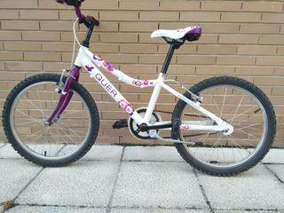 Bicicleta niña Qüer