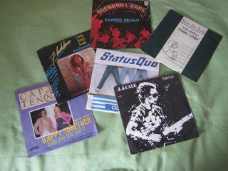 singles vinilo años 80