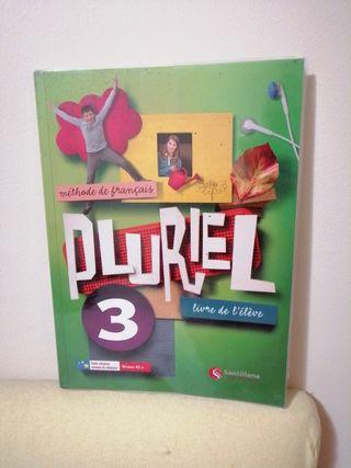 Libro de francés Pluriel 3