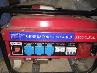 Generador de corriente a gasolina