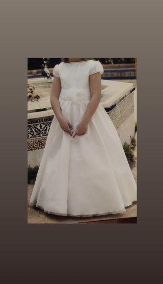 Vestido de comunión Tizzas el corte ingles