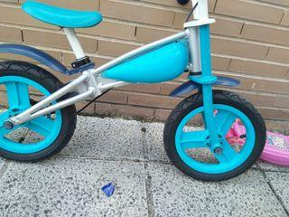Bicicleta para niños con o sin pedales