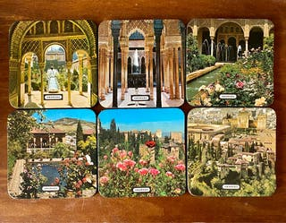 Colección 6 posavasos Granada