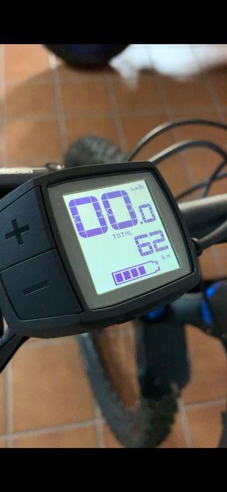 Mtb bicicleta de montaña electrica CUBE