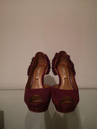 Zapato de tacón ZARA