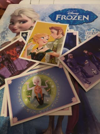Cromos Frozen Album Pegatinas