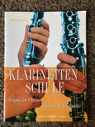 Libro de clarinete Klarinetten-Schule 1A