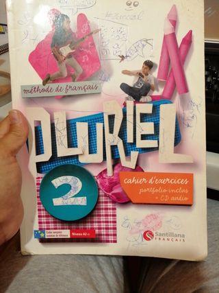 Cuaderno de francés Pluriel 2