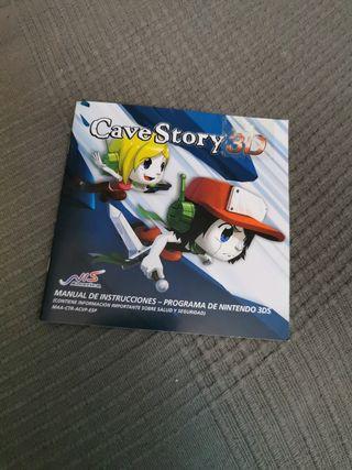 SOLO MANUAL Cave Story 3D Nintendo