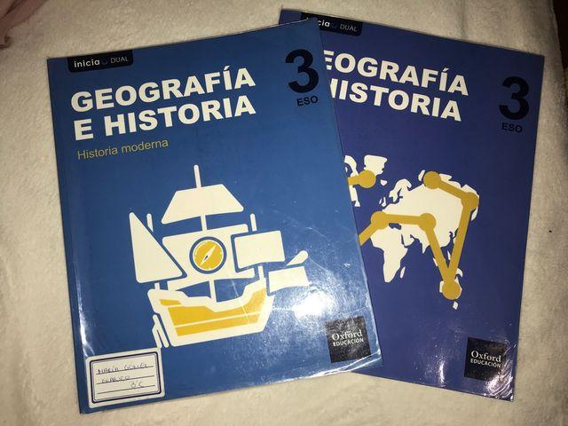 Libros Geografia E Historia 3 Eso Oxford De Segunda Mano Por 15 En Leganes En Wallapop