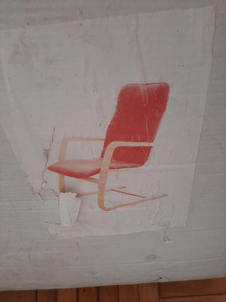 sillónes relax rojos