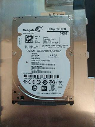 disco duro para portátil 500 GB 5400 rpm