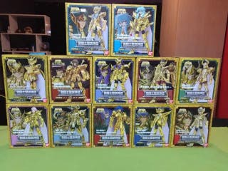 Saint Seiya myth cloth, los 12 de oro