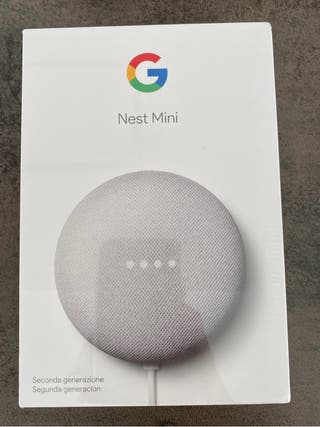 Altavoz inteligente - Nest mini Google