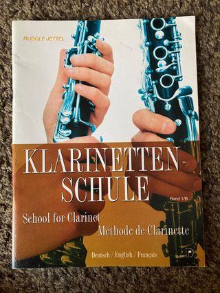 Libro clarinete Klarinetten-Schule 1B