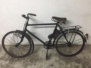 Bicicleta militar suiza antigua