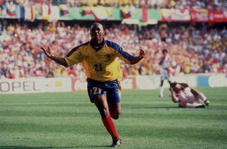 CAMISETA COLOMBIA REEBOK 1998