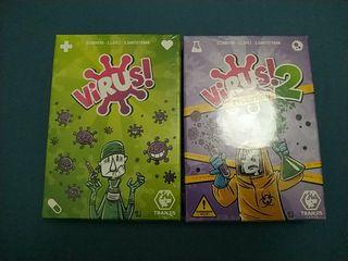 Juegos de cartas virus y virus 2 nuevos