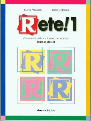 Libro De Italiano RETE! 1 (Guerra Edizioni)