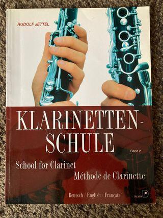 Libro de clarinete Klarinetten-Schule 2