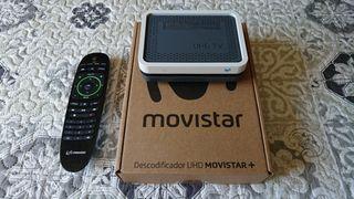 Descodificador UHD Movistar +