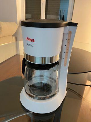 Cafetera Ufesa activa