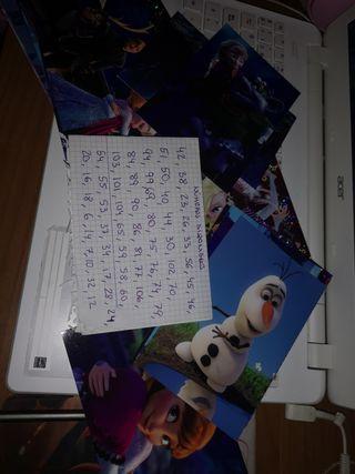 Postales de Frozen