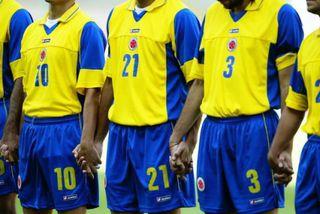 CAMISETA COLOMBIA LOTTO 2007