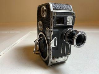 Antigua cámara de cine Bolex Paillard C8