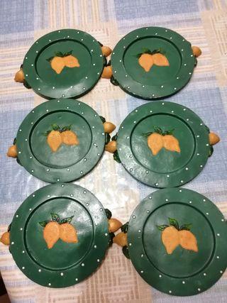 posavasos cerámica