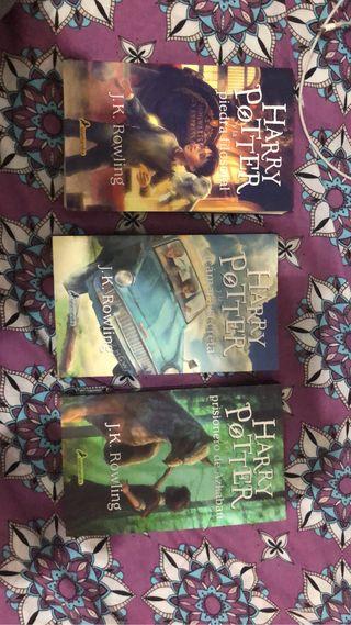 Tres Primeros Tomos Harry Potter