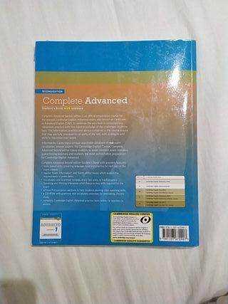 Student's book Complete Advanced Cambridge