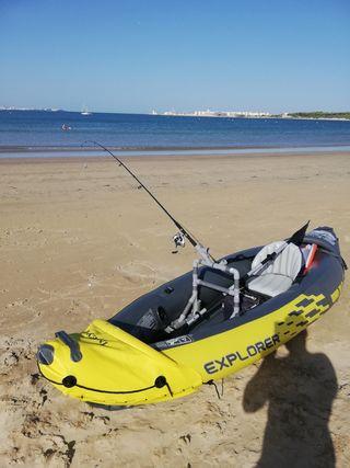 Vendo Kayak de pesca hinchable 312*91*51 cm
