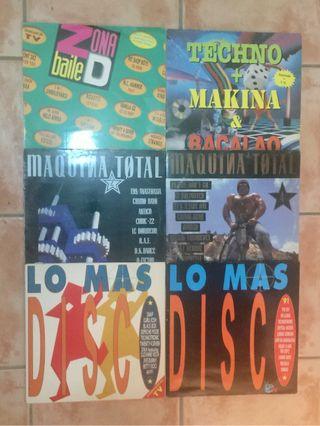 Lote Vinilos Remember Dance