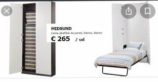 Cama abatible, plegable IKEA