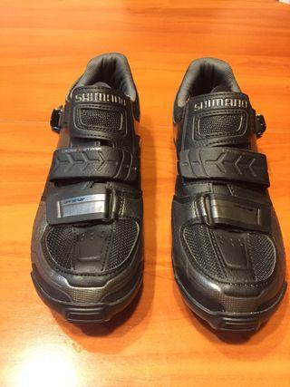 Zapatillas de ciclismo shimano talla 41