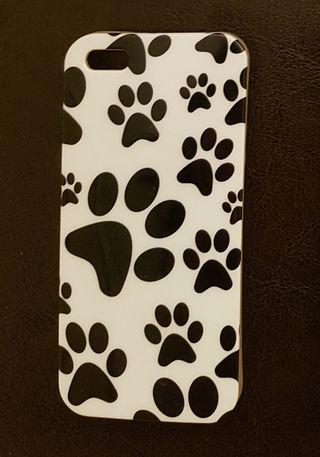 Funda de huellas de perro para IPhone 5