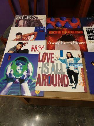 discos vinilo maxi singes de los 90