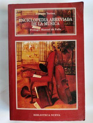 Enciclopedia abreviada de la música Joaquín Turina